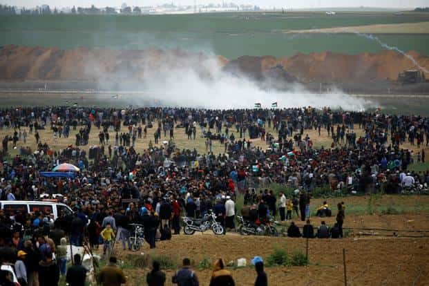 The protests come amid growing tensions over President Donald Trump's December recognition of Jerusalem as Israel's capital, as well as a yet-to-be-released US peace plan that Palestinian Authority president Mahmoud Abbas has already pledged to reject. Photo: AFP