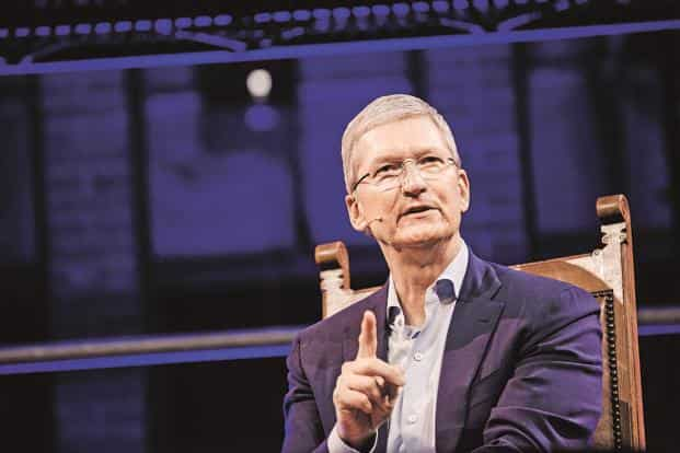 Apple CEO Tim Cook says his company has never emphasized customer data monetization. Photo: Bloomberg