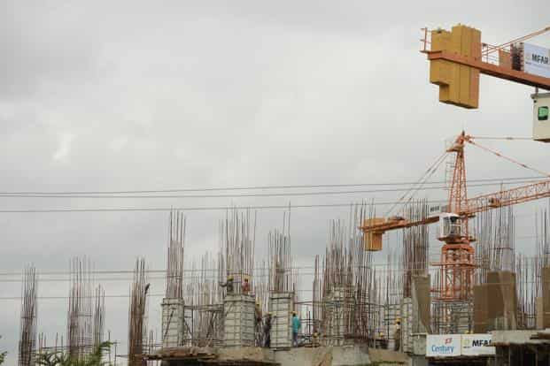 The growth in infrastructure output compares with a downwardly revised 6.1% year-on-year growth in January. Photo: Hemant Mishra/Mint