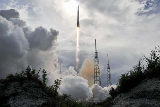 Monday's trip marked SpaceX's 14th resupply mission for Nasa under a $1.6 billion contract that aims to guarantee much-needed supplies and equipment to astronauts living in orbit. Photo: AP