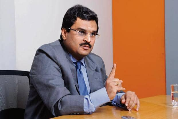 Jignesh Shah, founder and chairman emeritus of 63 Moons, formerly known as FTIL. Photo: Abhijit Bhatlekar/Mint