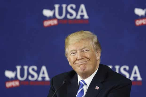 Trump threatened the extra tariffs after China last week imposed $3 billion of tariffs on US fruits, nuts, wine and pork, just hours after the United States unveiled an initial $50 billion in tariffs on Chinese goods. Photo: Bloomberg