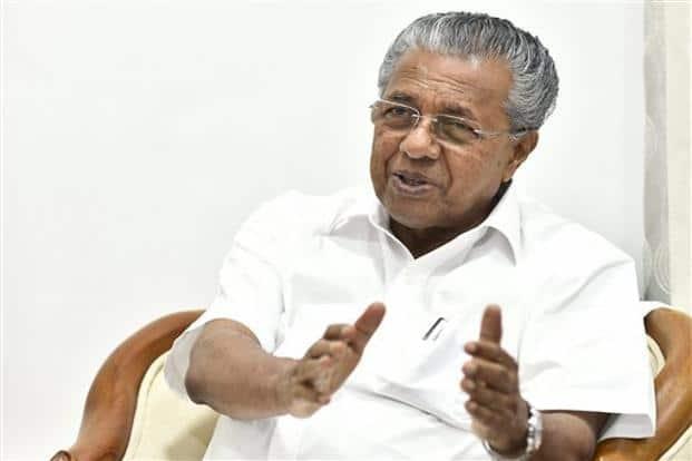 Kerala chief minister Pinarayi Vijayan. Photo: PTI