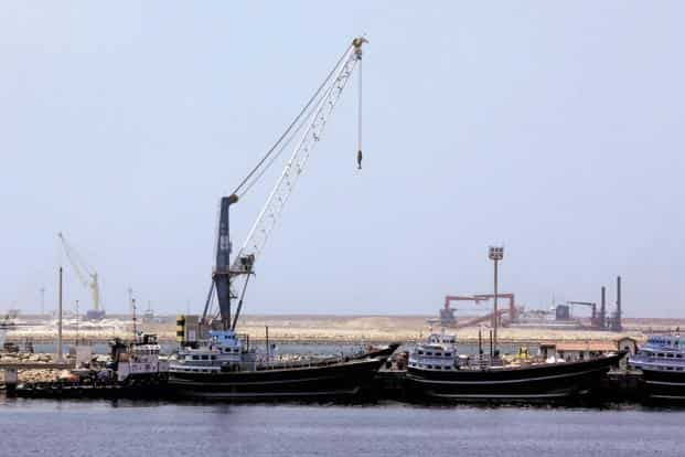 Any formal investment from Beijing would further weaken the strategic advantage for New Delhi to invest in Chabahar, which is close to Pakistan's western border. Photo: AFP