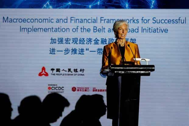 IMF MD Christine Lagarde China's Belt and Road initiative is showing signs of progress but warned of potential debt risks for partner countries involved in joint projects. Photo: Reuters