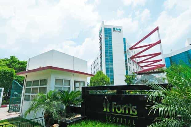 Fortis Hospital in Noida. Shares of Fortis fell about 2% on Monday after the announcement by IHH and were down 1.87% around 0512 GMT, while trading in IHH shares listed in Kuala Lumpur was halted. Photo: Ramesh Pathania/Mint