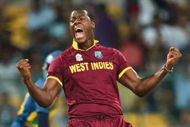 Hard-hitting all-rounder like Carlos Brathwaite has had to sit on the Hyderabad Sunrisers bench. Photo: AFP