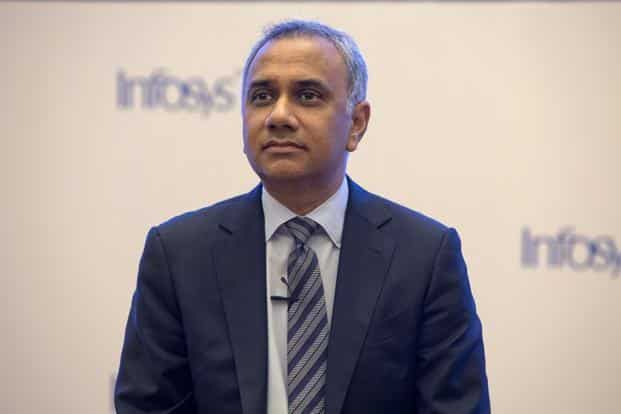 CEO Salil Parekh contends Infosys has a rare combination of skills and experience that will benefit the company in the years ahead. Photo: Bloomberg