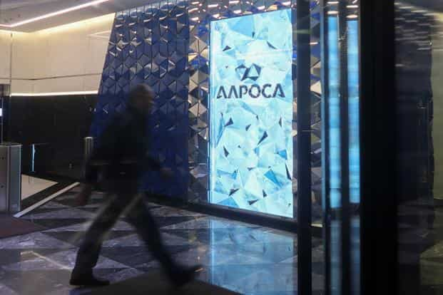 Owned in 50% partnership by the Russian government, Alrosa is keen on having a trading office in India. Photo: Reuters