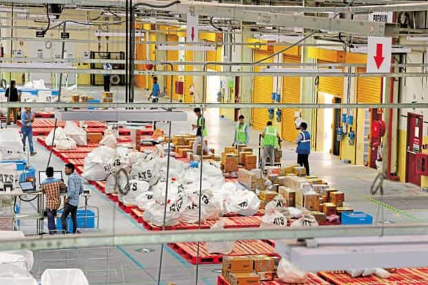 Amazon India said these new warehouses will be fully operational before the festive season of 2018. Photo: Ramesh Pathania/Mint