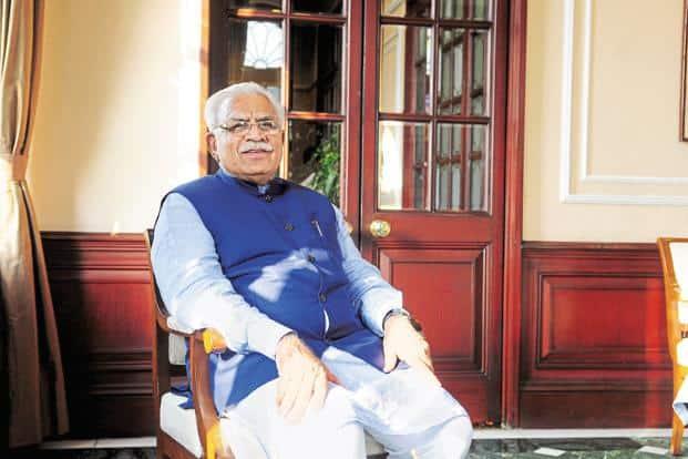 Haryana chief minister Manohar Lal Khattar. File photo: Mint