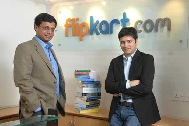 Flipkart founders Sachin Bansal (L) and Binny Bansal. Photo: Hemant Mishra/Mint