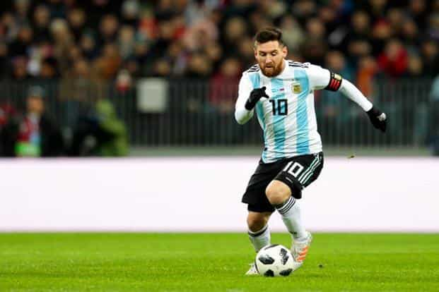 19fc8a211 ... Argentina captain Lionel Messi will be eager to add a World Cup to his  trophy cabinet