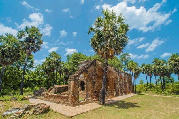 Ruins at Arikamedu. Photo: Subhadip Mukherjee