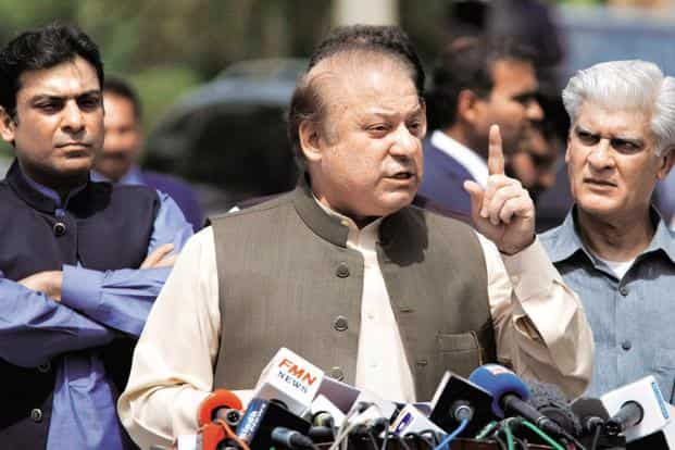 Nawaz Sharif, who has been disqualified to hold public office for life by the Supreme Court in the Panama Papers case, said Pakistan has isolated itself. Photo: AP