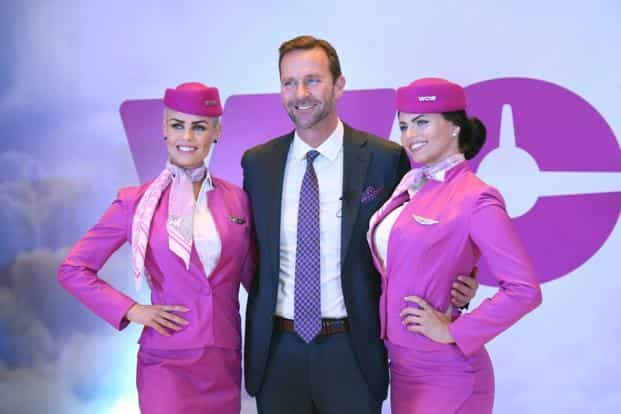 Founder and CEO of Wow Air, Skuli Mogensen at a press conference to announce the launch of the airlines' India operations, in New Delhi on Tuesday.  Photo: PTI