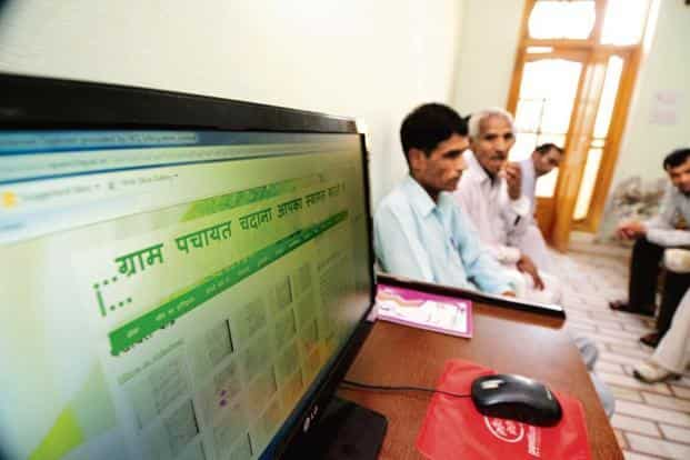 On 31 December 2017, the government declared Phase I of BharatNet, targeting 1,00,000 panchayats, completed. Photo: Pradeep Gaur/Mint