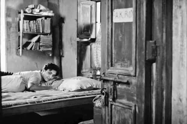 Actor Soumitra Chatterjee in 'Apur Sansar', the third part of Satyajit Ray's 'Apu Trilogy', which was made in a Calcutta of relentless power cuts.