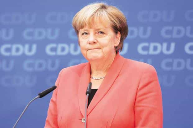Angela  Merkel plans to meet Xi i Jinping and other Chinese leaders on 24 May, followed by a stop in Shenzhen to tour sites including a Siemens AG facility.  Photo: Bloomberg