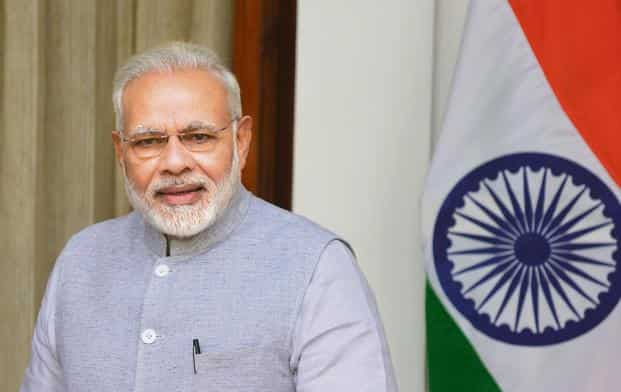 Narendra Modi says Kishanganga hydropower project is ready to add a new dimension in the growth journey of Jammu and Kashmir. Photo: Ramesh Pathania/Mint