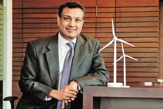 ReNew Power founder Sumant Sinha. The renewable energy firm is expected to sell shares worth around Rs7,500-8,000 crore in the IPO. Photo: Pradeep Gaur/Mint