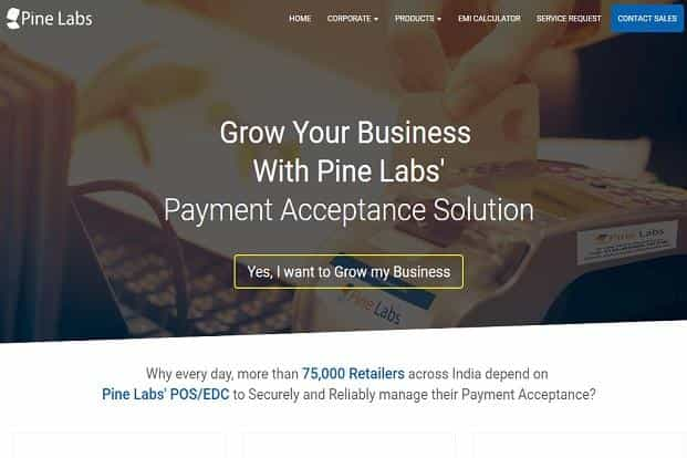 Pine Labs processes transactions worth $15 billion (annualized) on a base of 300,000 payments acceptance points.