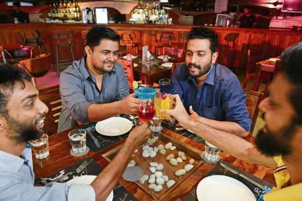 Avoid topics such as religion or politics, as well as sexual innuendos, when you are drinking with colleagues. Photo: Hemant Mishra/Mint