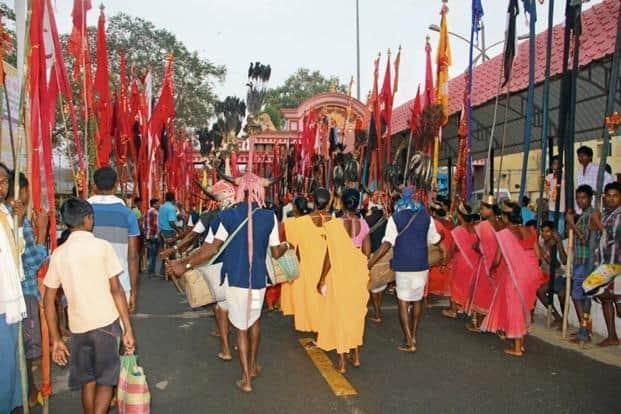 Over 500 tribes gather for the annual Phagun Madai festival. Photo: Swati Sanyal Tarafdar