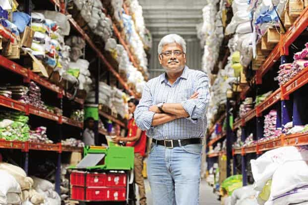 BigBasket CEO Hari Menon. The online groceries startup aims to generate 45% of sales from private label business by next April. Photo: Hemant Mishra/Mint