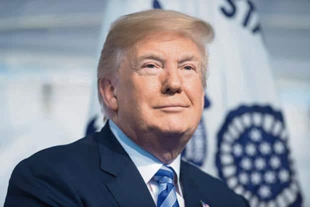 US President Donald Trump. Photo: AFP.