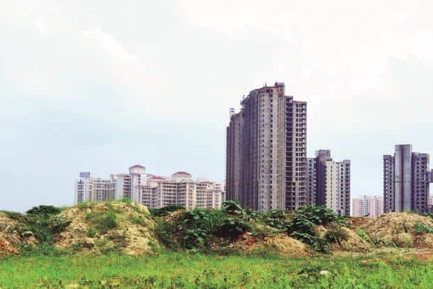 It is not hard to predict that real estate in India will find it difficult to go back to the huge returns on investments seen in the years 2003 to 2009. Photo: Ramesh Pathania/Mint