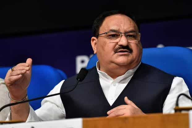 Union health minister J.P. Nadda. Photo: PTI