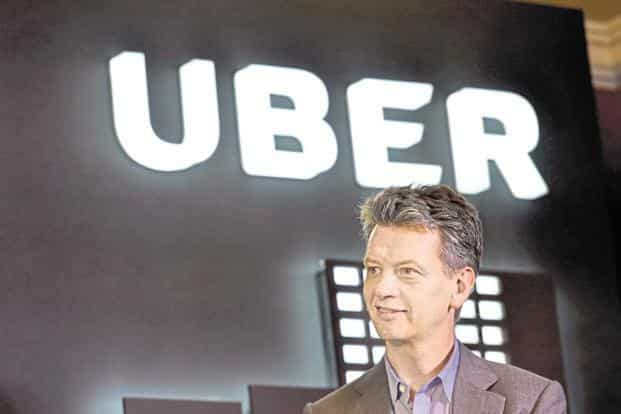 Uber COO Barney Harford. The company is clocking more than 10 million rides every week in India, more than twice as many from a year ago. Photo: PTI