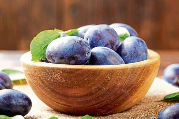 Also known as java or black plum, jamun is available from June-August. Photo: iStock