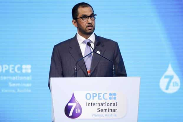 Sultan Ahmed Al Jaber, chief executive officer of Abu Dhabi National Oil Co. (ADNOC). Photo: Bloomberg