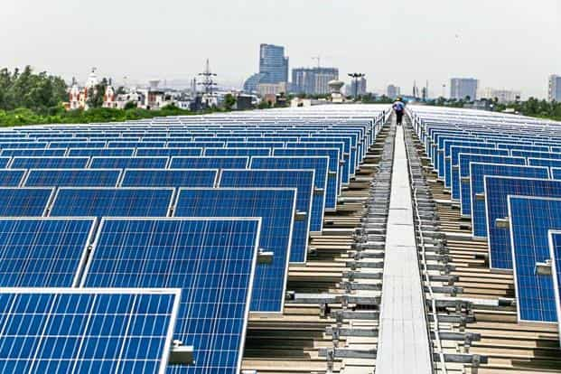 The special purpose vehicle aimed at financing $150 billion would become a World Solar Bank, says ISA's interim director general Upendra Tripathy. Photo: Bloomberg