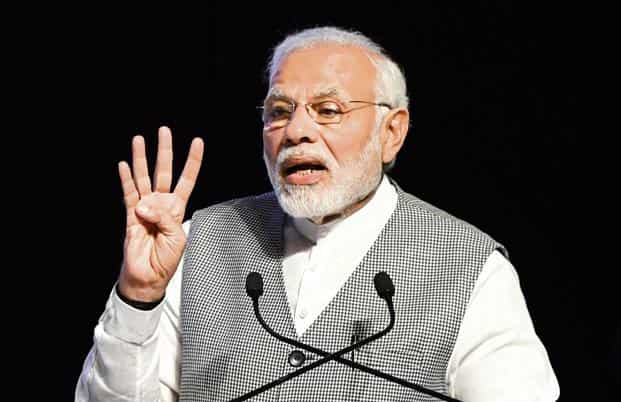 PM Narendra Modi recently said that India must strive to a $5 trillion economy b 2025, and that the time has come for double-digit GDP growth. Photo: PTI