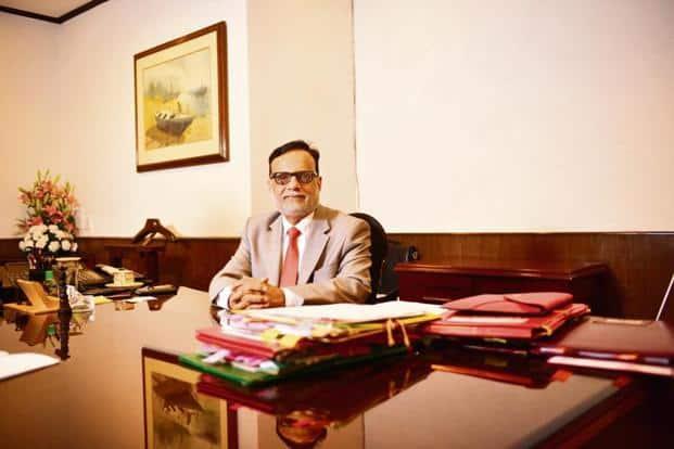 Finance secretary Hasmukh Adhia. Photo: Pradeep Gaur/Mint