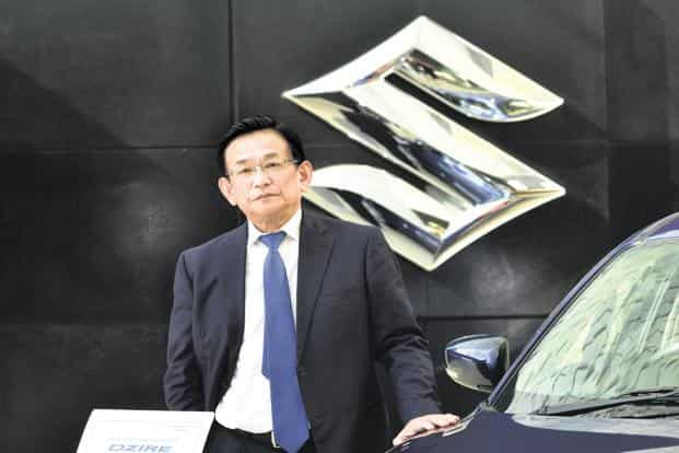 Maruti Suzuki CEO Kenichi Ayukawa. Maruti Suzuki already has a production capacity of 15 lakh units per annum across its two plants at Gurgaon and Manesar. Photo: Ramesh Pathania/Mint