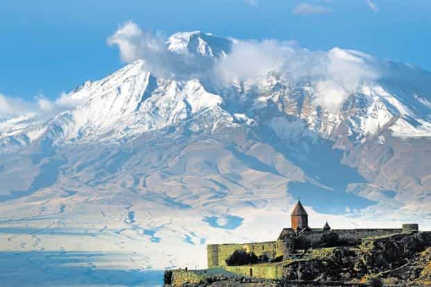 Khor Virap monastery. Photo: Sugato Mukherjee
