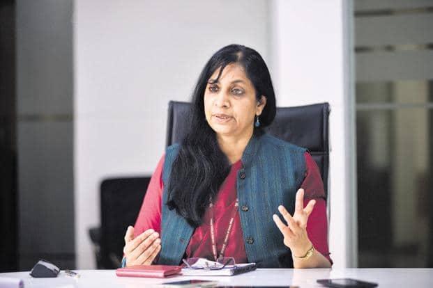 Telecom secretary Aruna Sundararajan. Photo: Pradeep Gaur/Mint