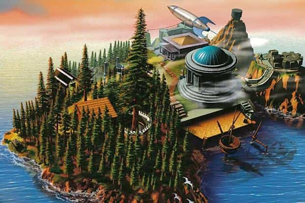 The video game 'Myst' takes place on an uninhabited island.
