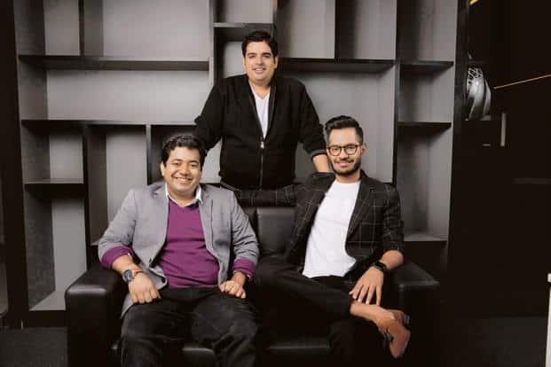 Roman Saini (left),  Gaurav Munjal (centre), Hemesh Singh.  Unacademy raised $11.5 million in September 2017, and it has raised $38.6 million cumulatively till date.