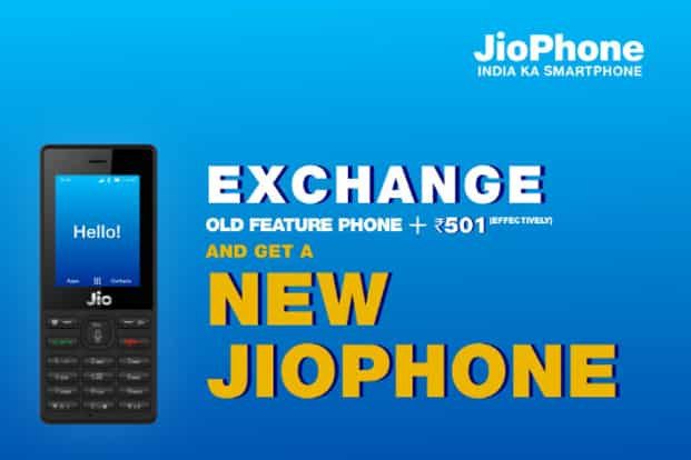 You don't have carry any accessories other than your old feature phone's battery and charger to avail the offer.