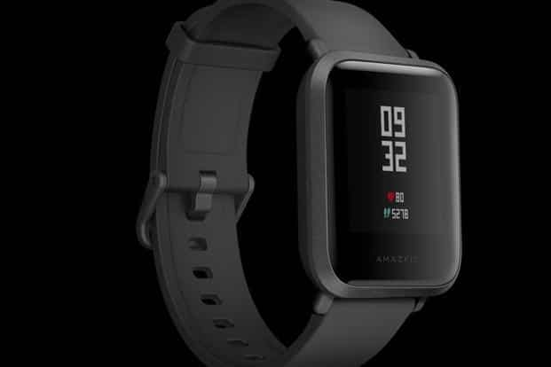 Amazfit Stratos and Amazfit Bip (in photo) priced at ₹ 15,999 and ₹ 5,499, respectively, are available online through Flipkart.