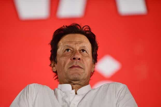 Cricketer turned politician Imran Khan's Pakistan Tehreek-i-Insaf (PTI) lead in the general elections with 30% of the total votes counted. Photo: AFP