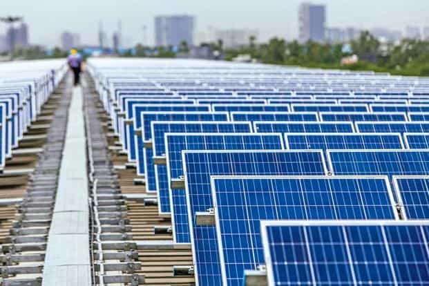 India had achieved record low solar power tariffs of ₹2.44 per unit in May 2017.
