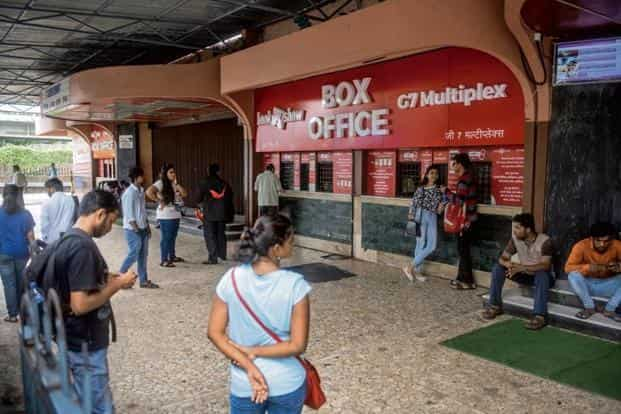 The Gaiety Galaxy multiplex theater in Mumbai. For most multiplex chains across the country, the overall growth in revenue comes from addition of screens, rise in food and beverage consumption as well as growth in advertising. Photo: HT