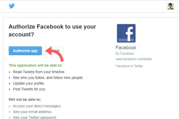 Can't automatically cross-post your Tweets on Facebook? Here's the