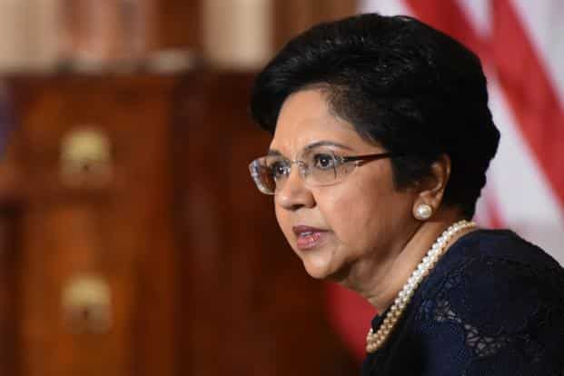 PepsiCo CEO Indra Nooyi will be replaced by Ramon Laguarta. Photo: AFP